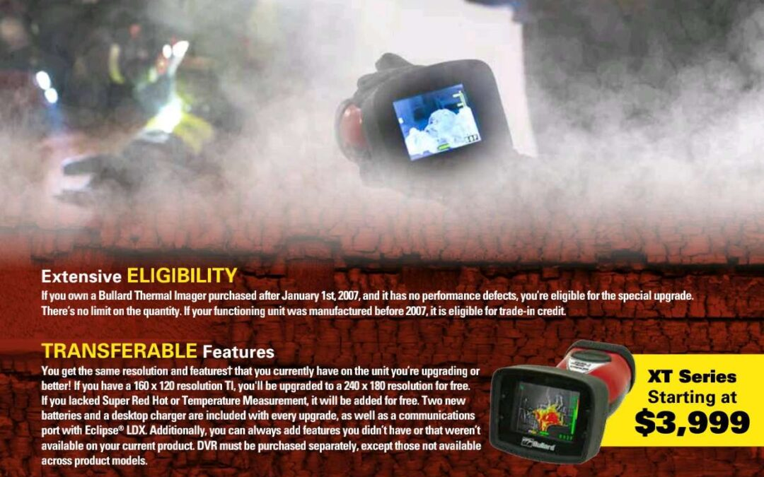 Bullard Has Upgrades & Trade-Ins Available for Your Older Thermal Imagers